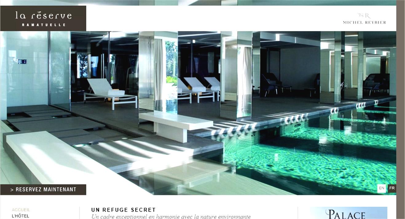 hotel palace en france hotel la reserve ramatuelle 83. Black Bedroom Furniture Sets. Home Design Ideas